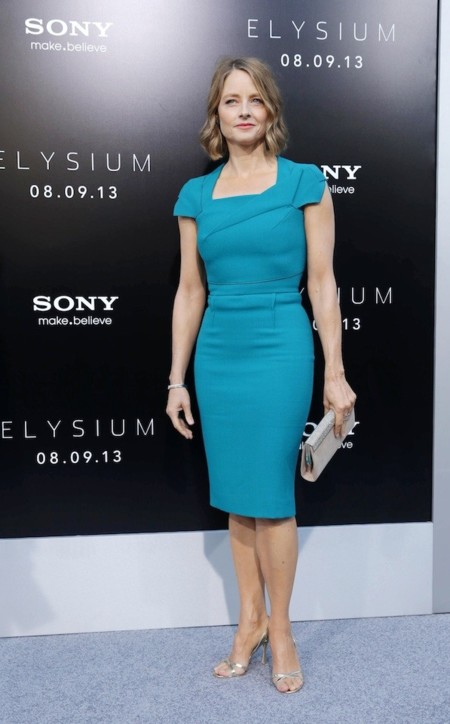Look vestido azul turquesa