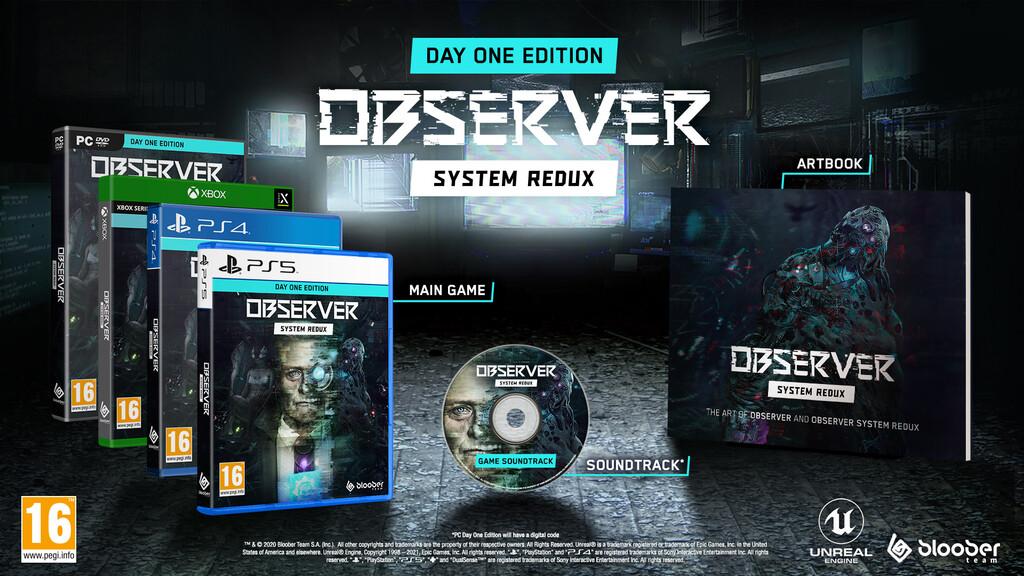 El thriller cyberpunk Observer: System Redux llegará a PS4 y Xbox One en julio junto con una edición en formato físico