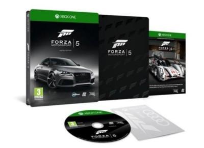 Forza 5 se pone sus mejores galas para conocer a la Xbox One
