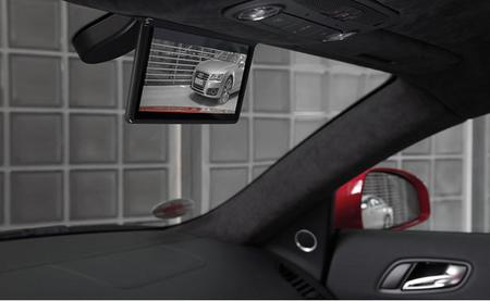 Retrovisor digital del Audi R8 e-Tron