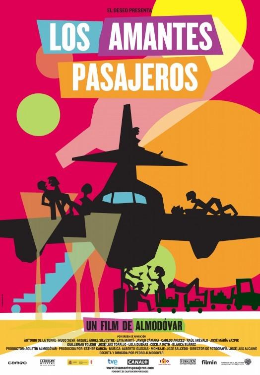 Foto de Todos los carteles de 'Los amantes pasajeros' (1/3)