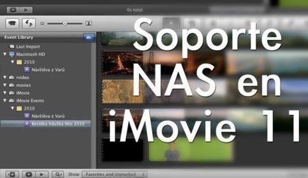 Cómo activar soporte NAS en iMovie 11