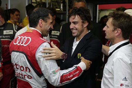 Fernando Alonso, un día en las 24 horas de Le Mans