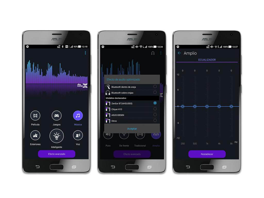 Asus Zenfone Ar Ajustes Audio Pro