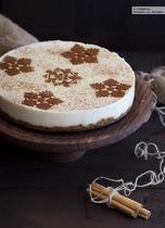 Tarta de arroz con leche. Receta sin horno