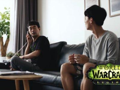 Un cómico vídeo confirma que jugar a World of Warcraft: Legion no es un secreto ni para tu familia