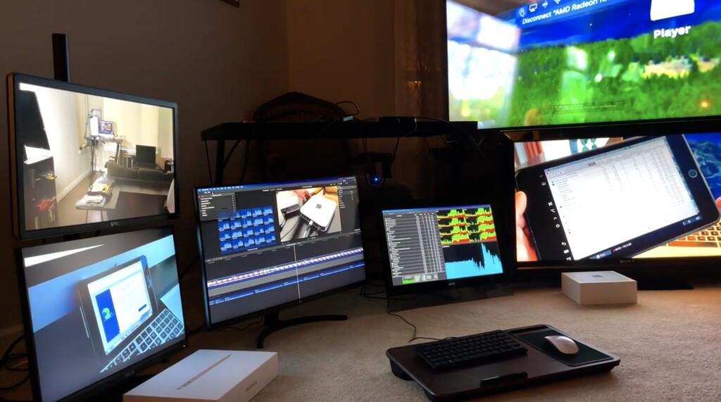 Los Mac con M1 son capaces de trabajar con 6 monitores externos de forma simultánea