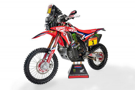Honda CRF450 Rally Dakar 2021