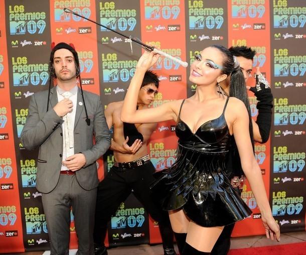 Foto de Famosos en los MTV Latinos 2009 (16/23)