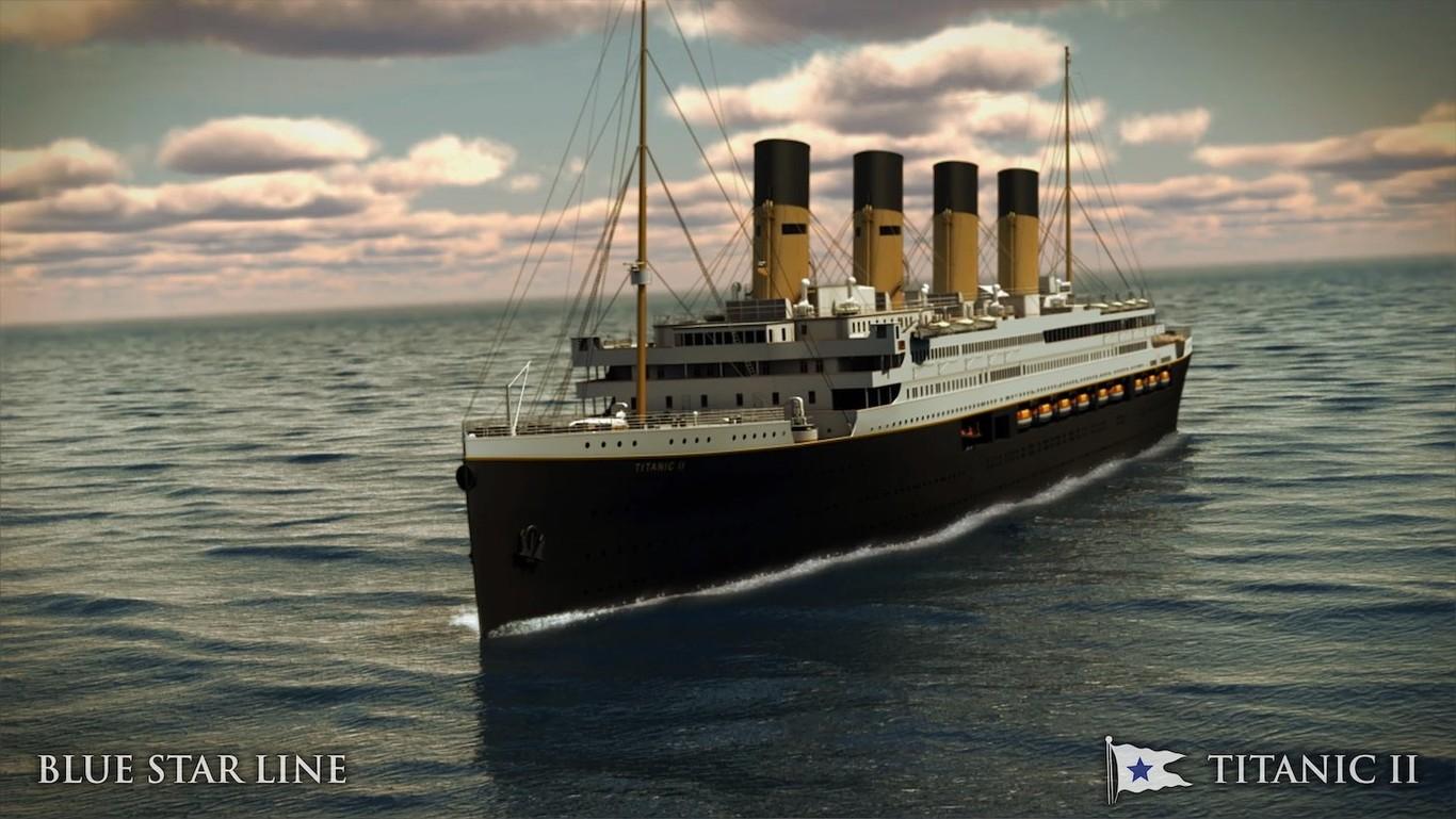 🚢 Réplica del «Titanic» cruzará los mares en 2022 y esta vez con botes salvavidas para todos [+Video]