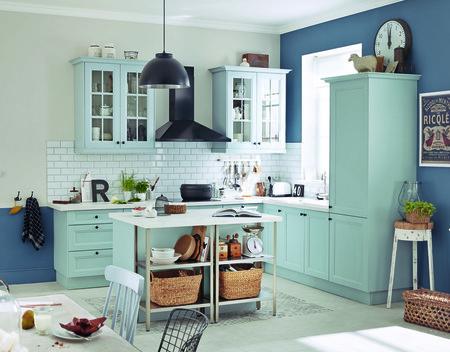 Cocina Azul Pastel 2a
