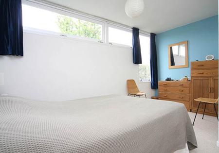 casa años 60, dormitorio