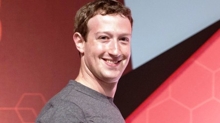 Zuckerberg Smiles