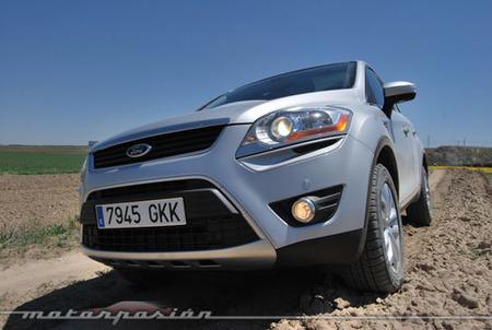 Ford Kuga 2.0 TDCi 4WD, prueba (parte 3)