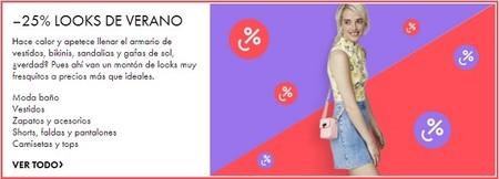 25 % de descuento en looks de verano  de Asos hasta el  domingo 1 de junio