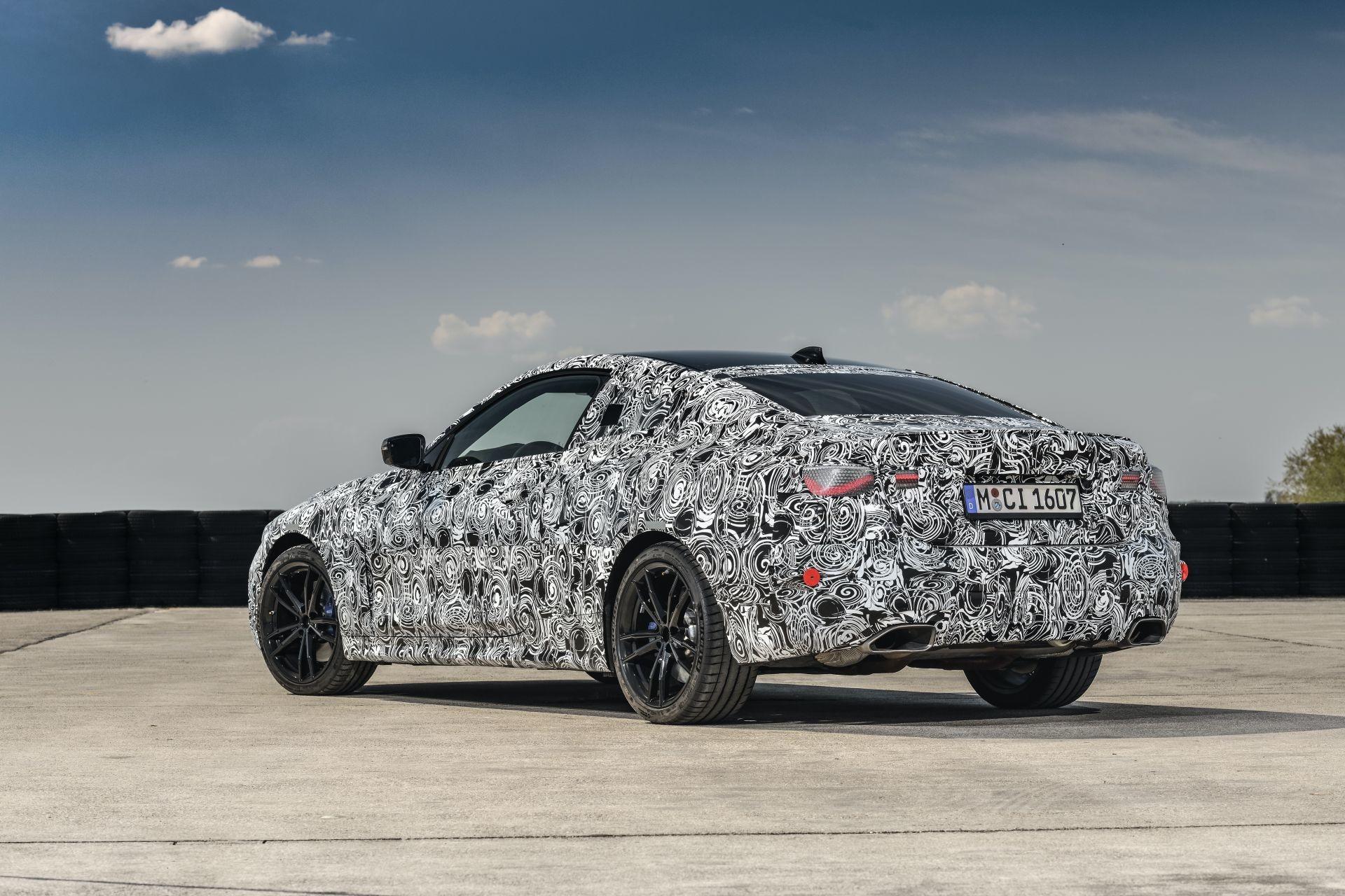 Foto de BMW Serie 4 2021 (fotos espía) (27/38)