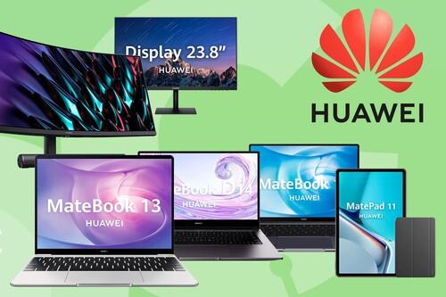 Ofertas Huawei en Amazon: monitores, portátiles y tabletas a los mejores precios