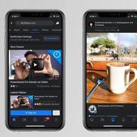 Así es el modo oscuro de Facebook para iPhone y iPad: filtradas capturas de pantalla que anticipan su llegada