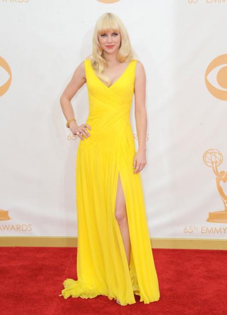 Anna Faris Emmy 2013