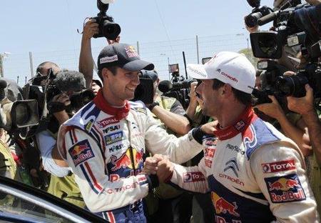 Sebastien Ogier gana el Rally de Portugal, con Sebastien Loeb y Dani Sordo en el podio