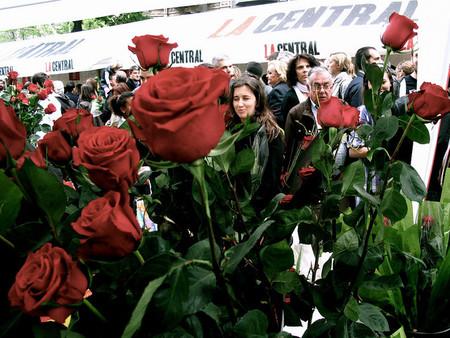 La fiesta de Sant Jordi, una auténtica bendición para las librerías y floristerías