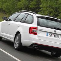 Bienvenida sea la tracción integral para el Octavia RS