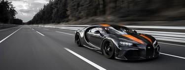 El Bugatti Chiron, a 482.8 km/h, se convierte en el auto más rápido del mundo