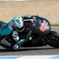 Danny Kent y Miguel Oliveira ya se han estrenado con sus nuevas Moto2