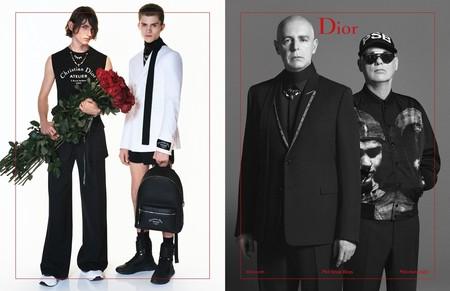 La campaña más romántica de Dior, con los cantantes de Pet Shop Boys como sorprendentes protagonistas