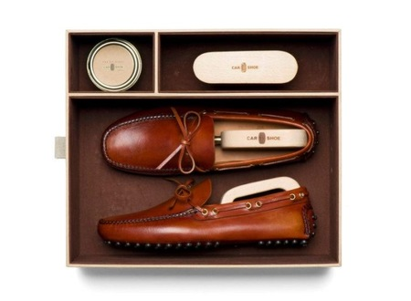 Regalos para un Gentleman Driver I - Car Shoe Kit