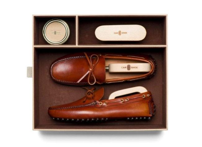 Regalos para un Gentleman Driver I - Car Shoe Kit