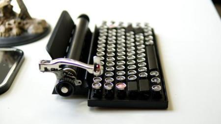 Qwerkywriter es un teclado para los amantes de lo retro