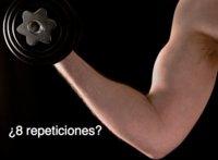 Menos de ocho repeticiones por serie, ¿sirve para ganar músculo?