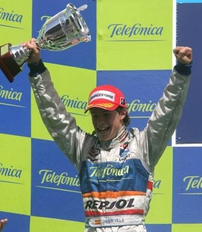 Javier Villa logra su primer podio en la GP2