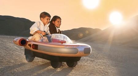 El mítico Landspeeder de Star Wars llega como vehículo eléctrico para niños para cumplir los sueños de los adultos