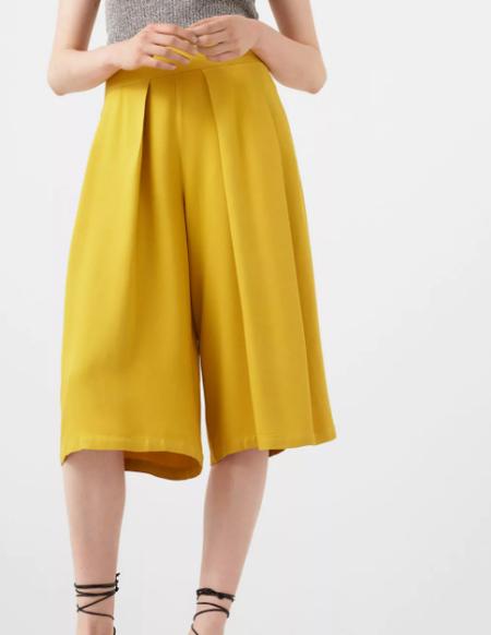 tendencias 2017 pantalon amarillo