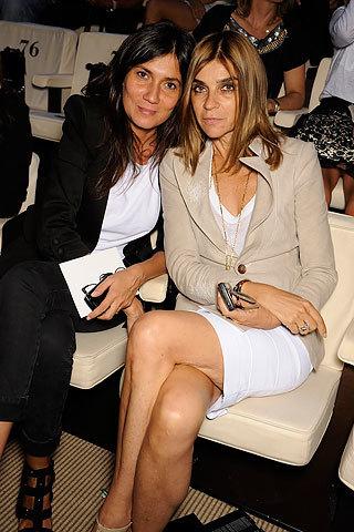 Las mujeres con estilo ya están en Milán
