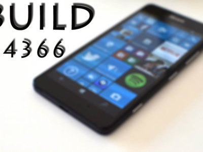 La Build 14366 llega a los Insiders para Windows 10 PC