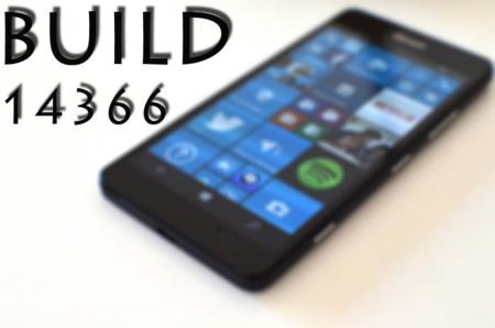 La Build 14366 llega a los Insiders para Windows 10 PC