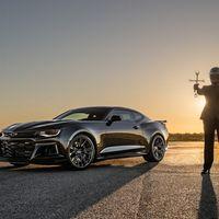 Hennessey quiere exorcizar al Challenger Demon con 1,000 hp en un Camaro ZL1 apodado 'The Exorcist'