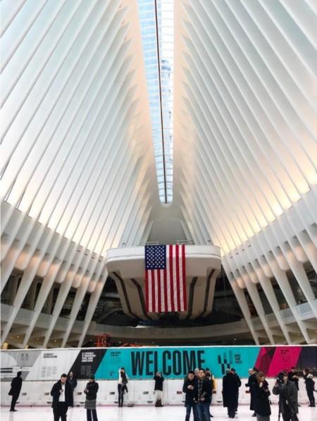 Interior Estación Calatrava NY