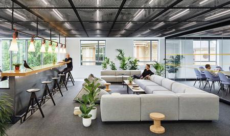 Cuatro diseños de oficinas de grandes empresas, que demuestran que las moquetas han vuelto