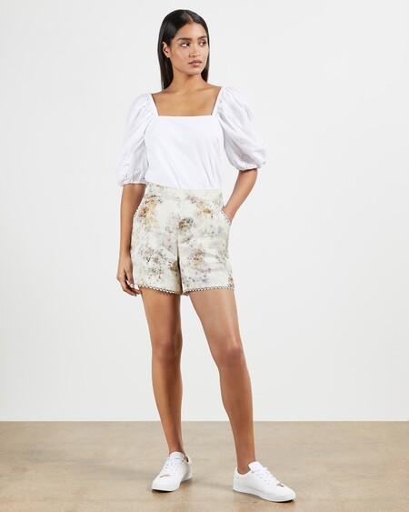 Shorts Estampado Vanilla