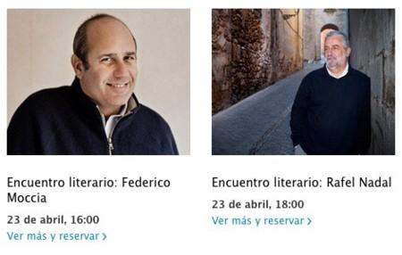 apple encuentros literarios store sant jordi día libro passeig de gracia barcelona