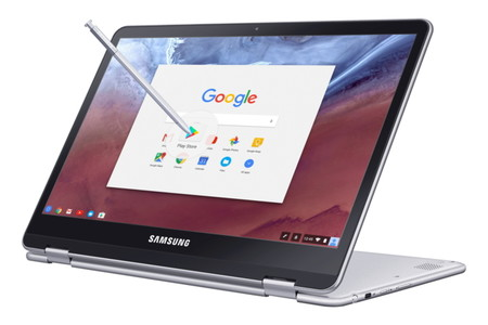 Samsung presenta una nueva generación de Chromebooks para competir con el iPad Pro y Surface Pro