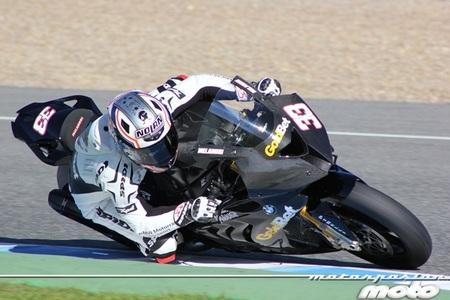 Nicky Hayden en MotoGP y Marco Melandri en Superbikes los más rápidos hoy en Jerez