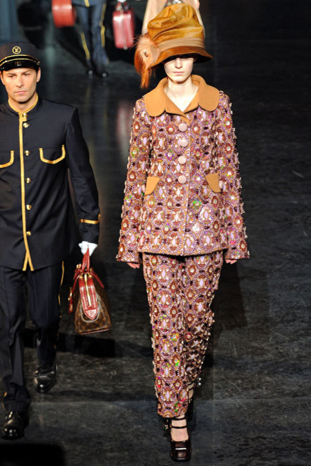Louis Vuitton estampado