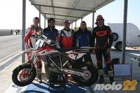 BMW G450X Supermotard, probamos una moto del campeonato del España
