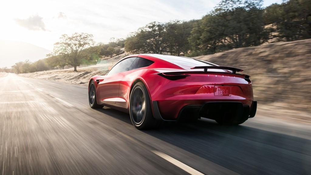 El Tesla Roadster 2020
