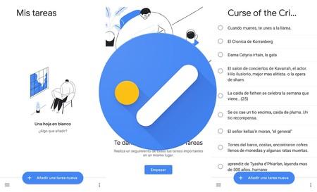 Google Tasks: así es la nueva aplicación de tareas integrada con Gmail y Calendar